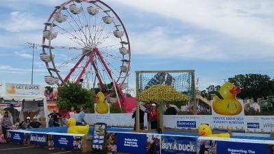 Rotary Duck Race